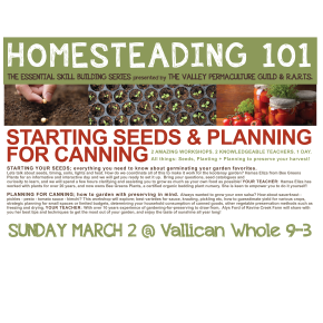 Saving Seeds 101 + Planning for Canning